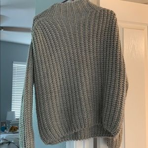 Kendall and Kylie Oversized turtle neck sweater